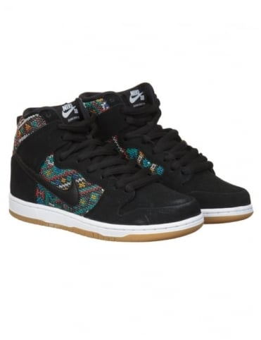 Nike SB Dunk Hi Express Shoes - Black (Car Seat Pack)