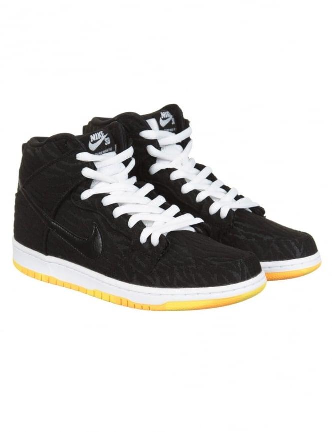 Nike SB Dunk Hi Pro Boots - Black/Black