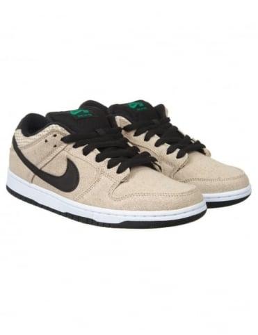 Nike SB Dunk Lo PRM Shoes - Bamboo