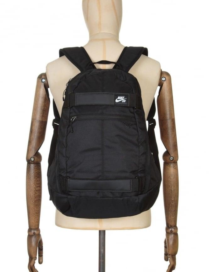 Nike SB Embarca Backpack - Black/Black