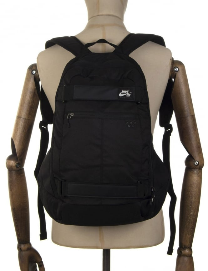 nike sb embarca backpack black white uk