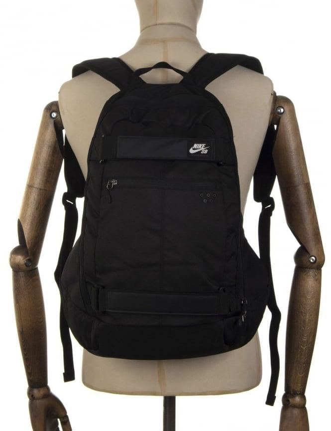 nike sb embarca backpack black white uk