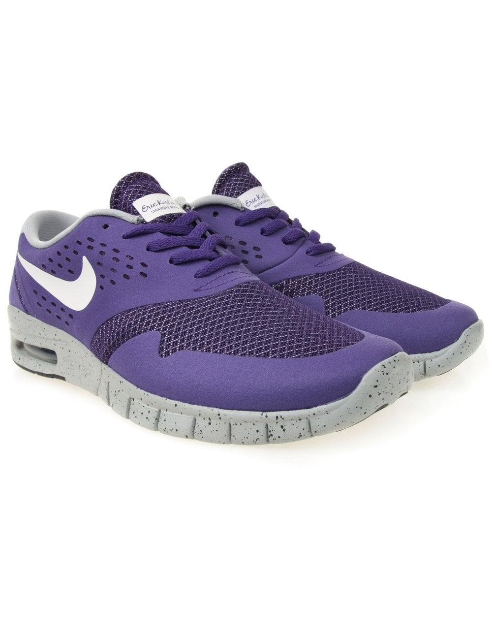 nike sb eric koston 2 max court purple footwear from. Black Bedroom Furniture Sets. Home Design Ideas