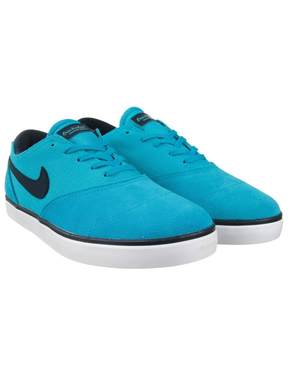 colchón Gallo esqueleto  Nike SB Eric Koston 2 Shoes - Blue Lagoon - Footwear from Fat Buddha Store  UK