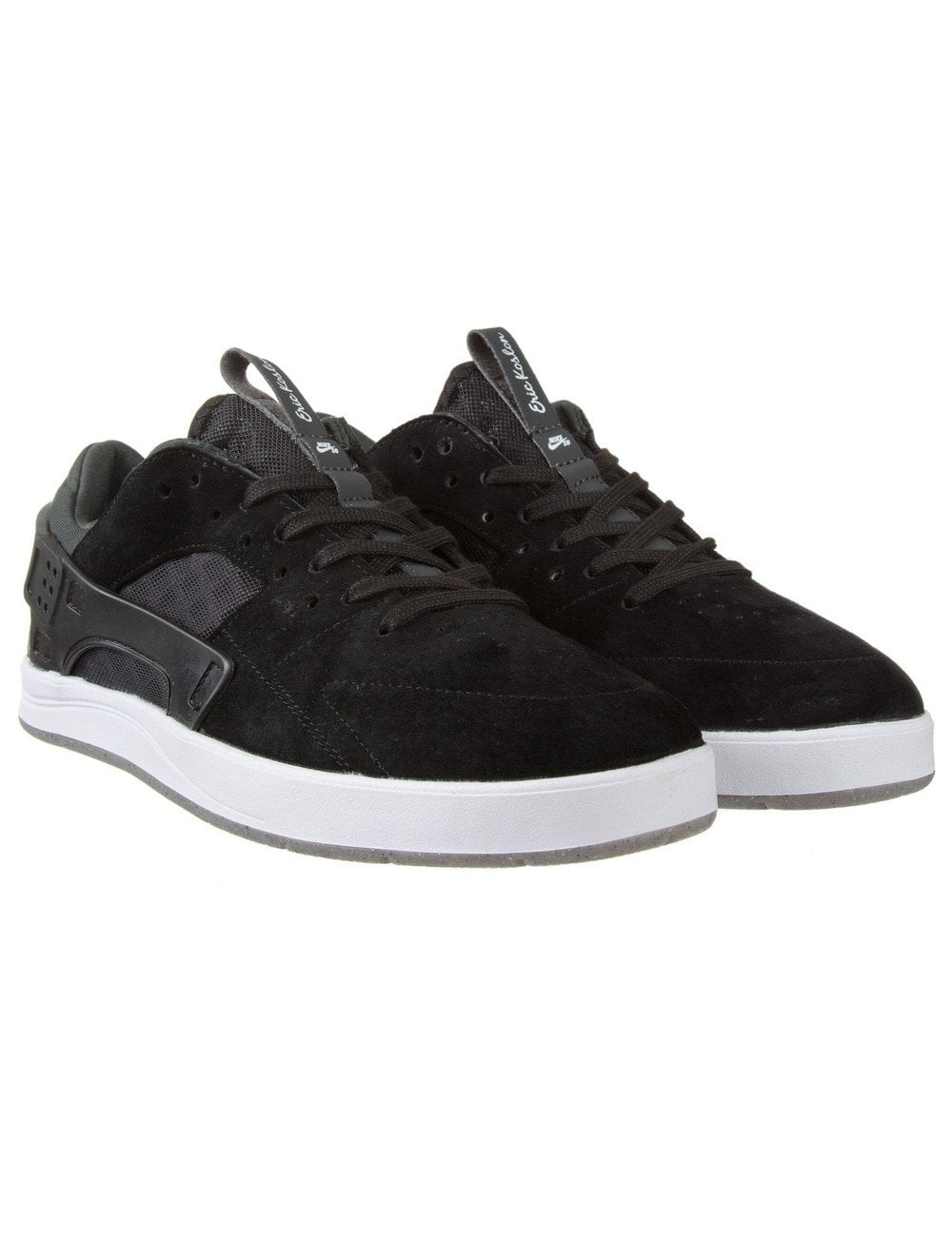 Pero Explícito chorro  Nike SB Eric Koston Huarache Shoes - Black/Anthracite - Footwear from Fat  Buddha Store UK