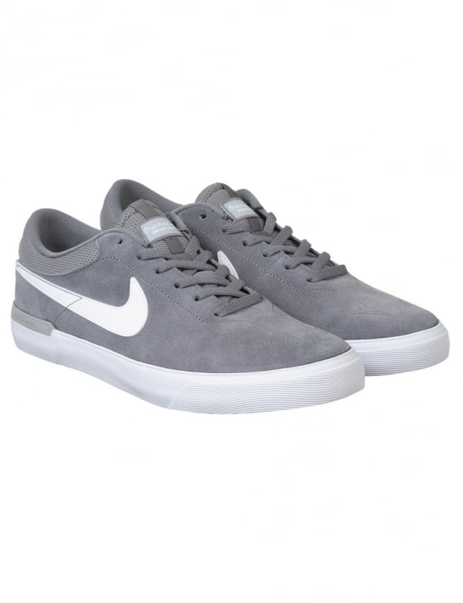Nike SB Eric Koston Hypervulc Shoes - Cool Grey/White