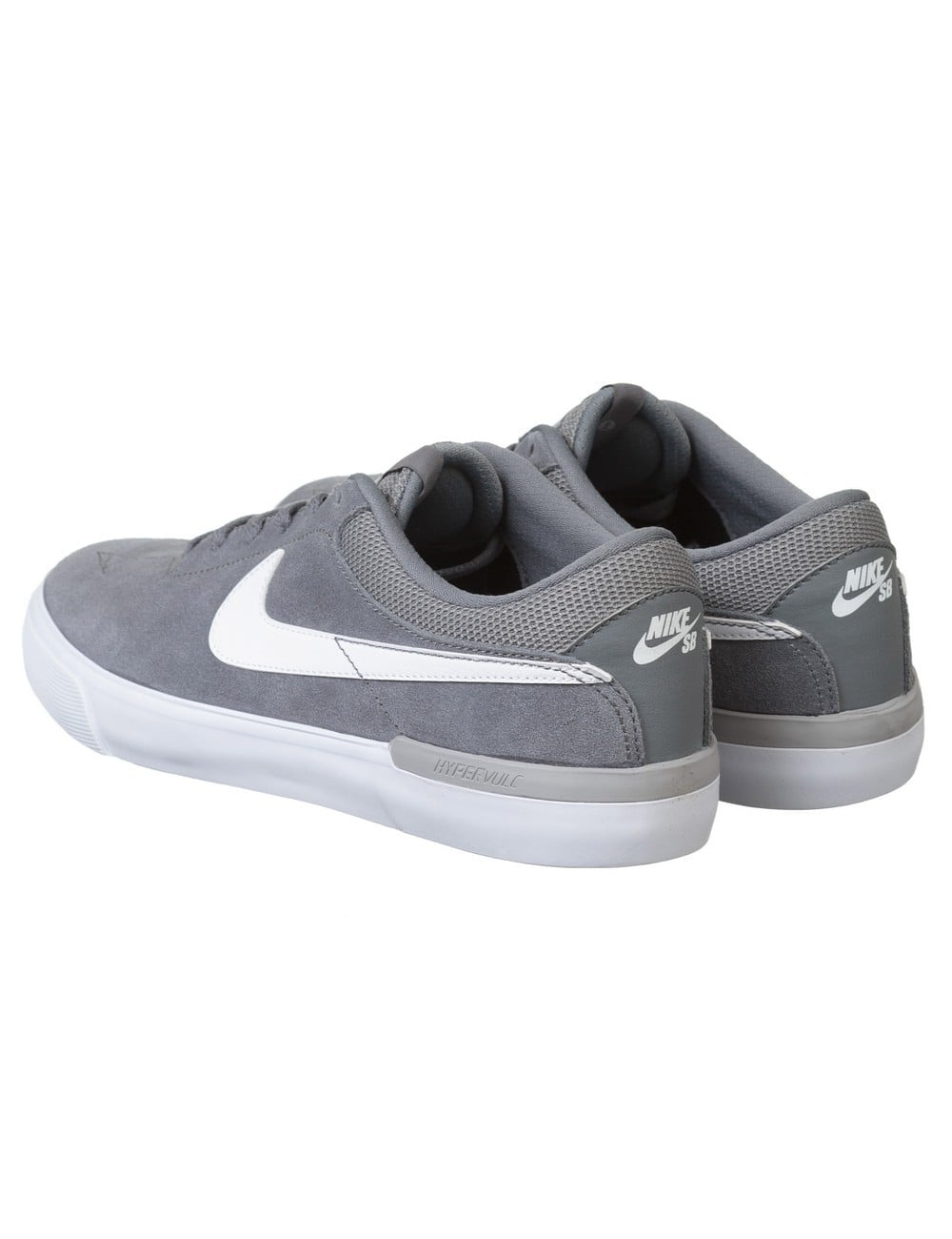 Eric Koston Hypervulc Shoes - Cool Grey/White