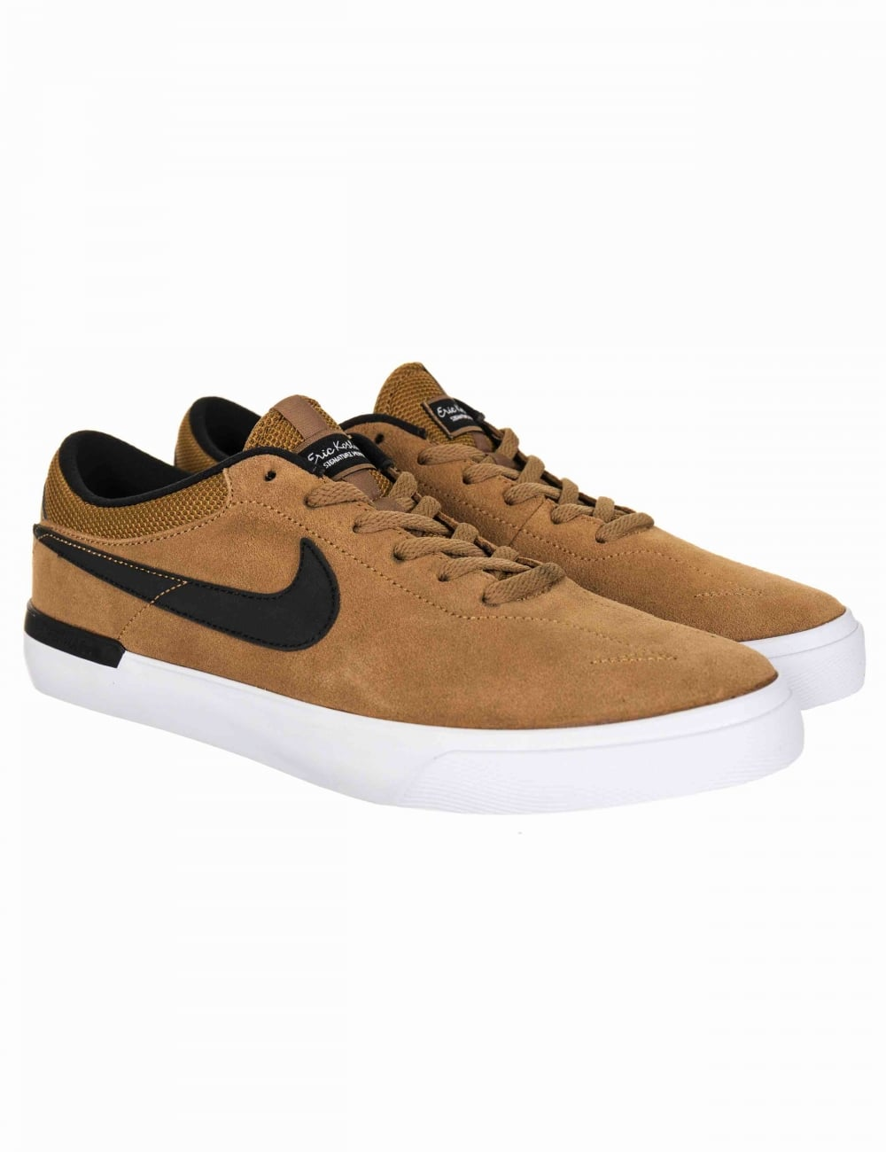 Nike SB Eric Koston Hypervulc Trainers - Golden Beige Black ... 9ee0dce86