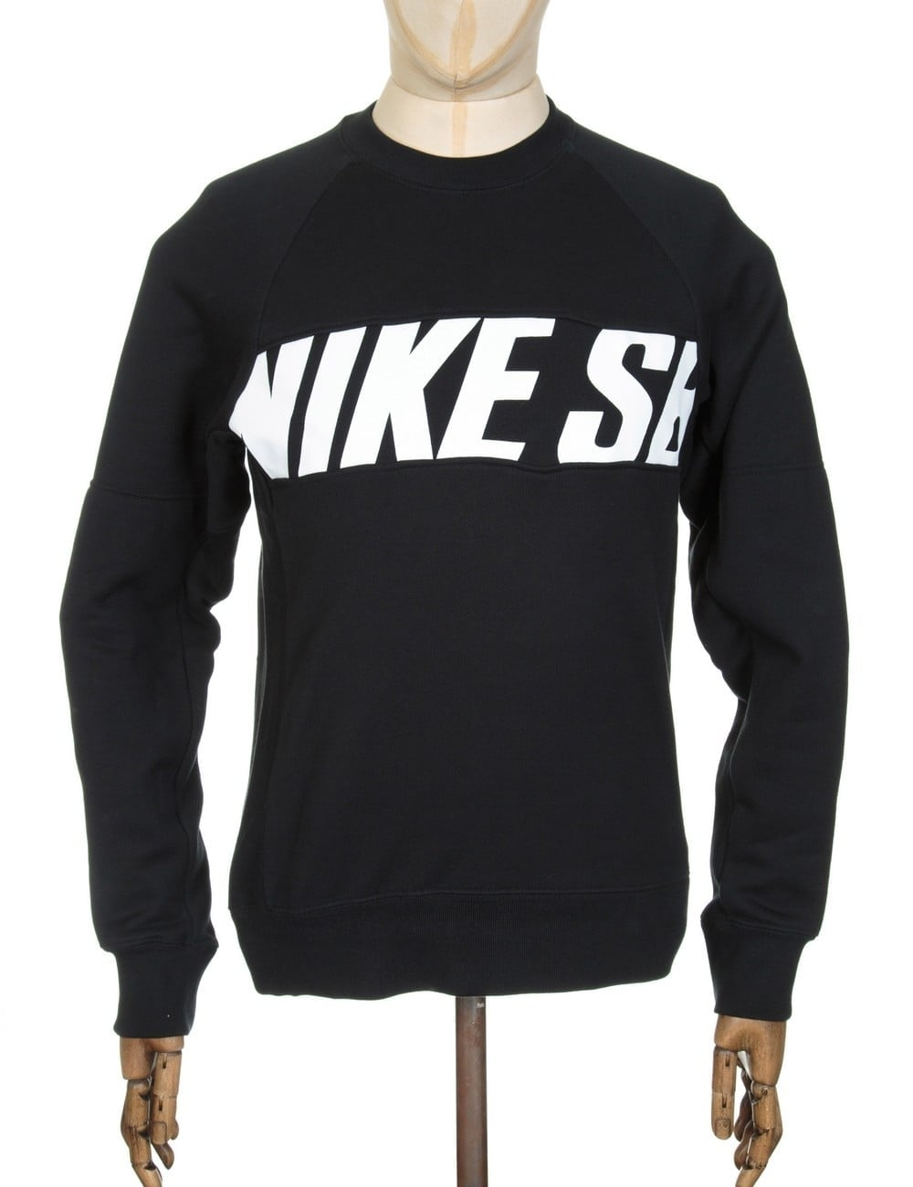c67d0c9ee3ad Nike SB Everett Motion Sweatshirt - Black - Clothing from Fat Buddha ...