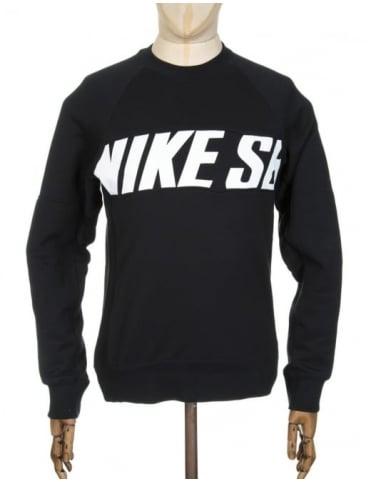 Nike SB Everett Motion Sweatshirt - Black