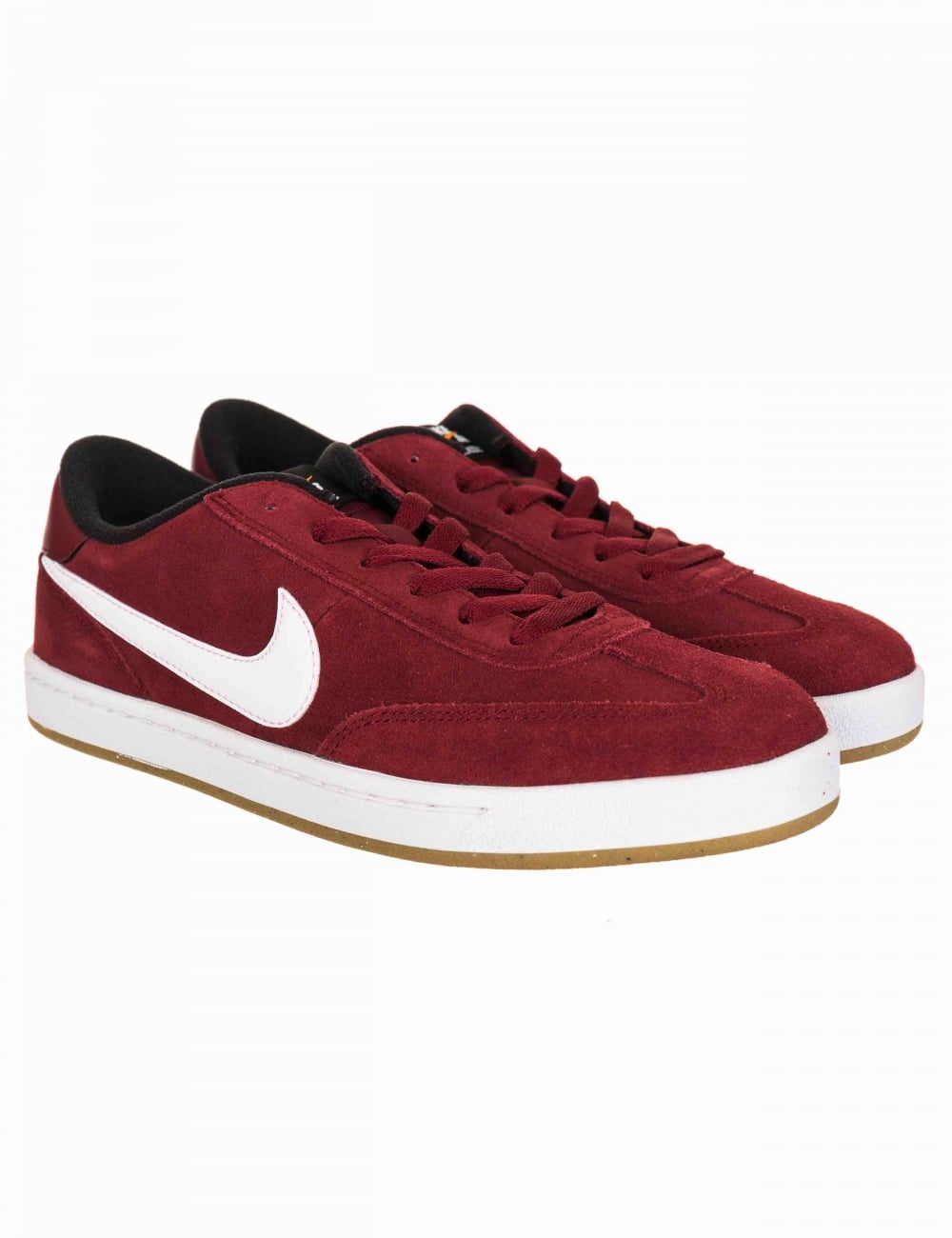 e5130077 Nike SB FC Classic Shoes - Team Red/Black - Trainers from Fat Buddha ...