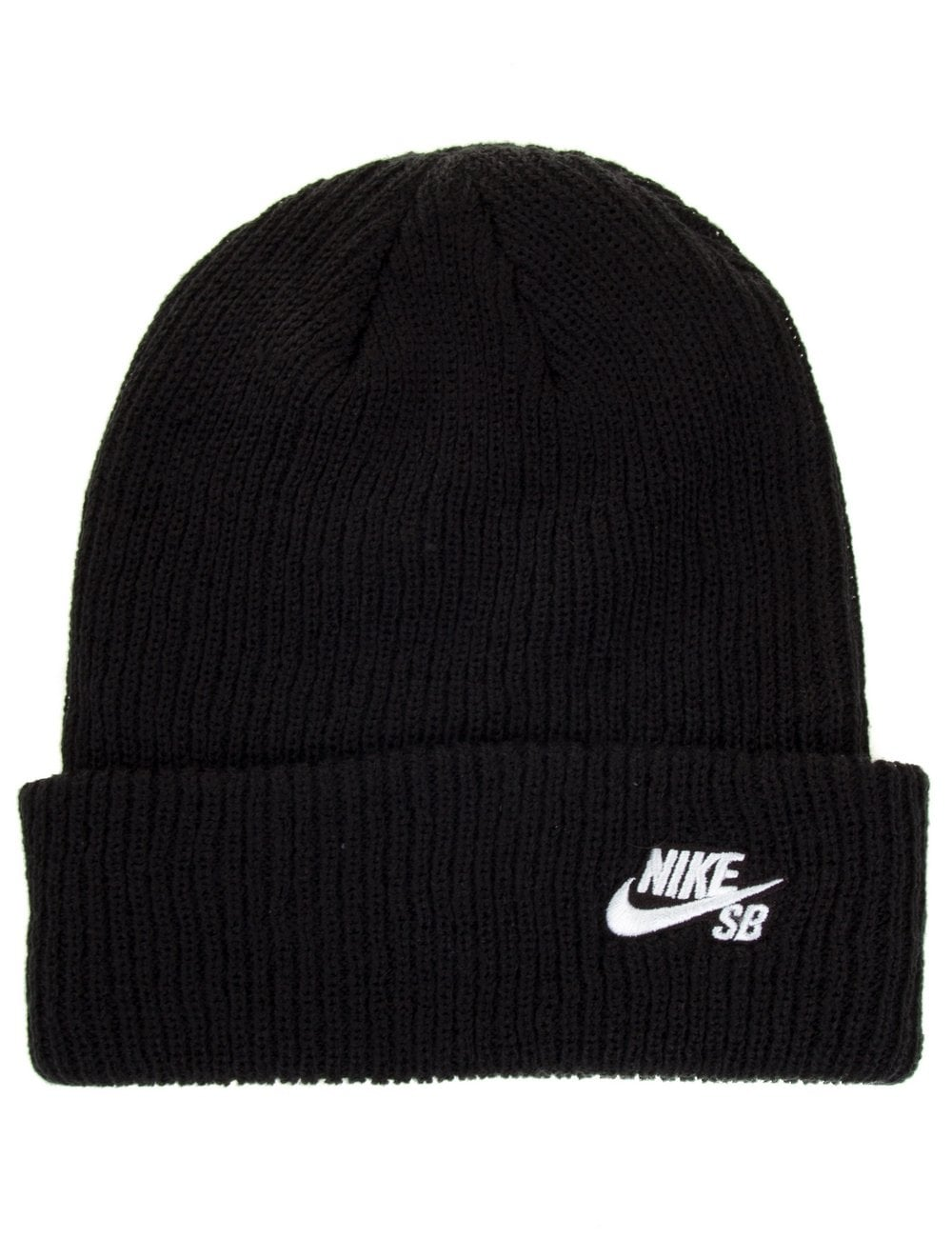 Nike SB Fisherman Beanie - Black - Accessories from Fat Buddha Store UK bae54a0d58c