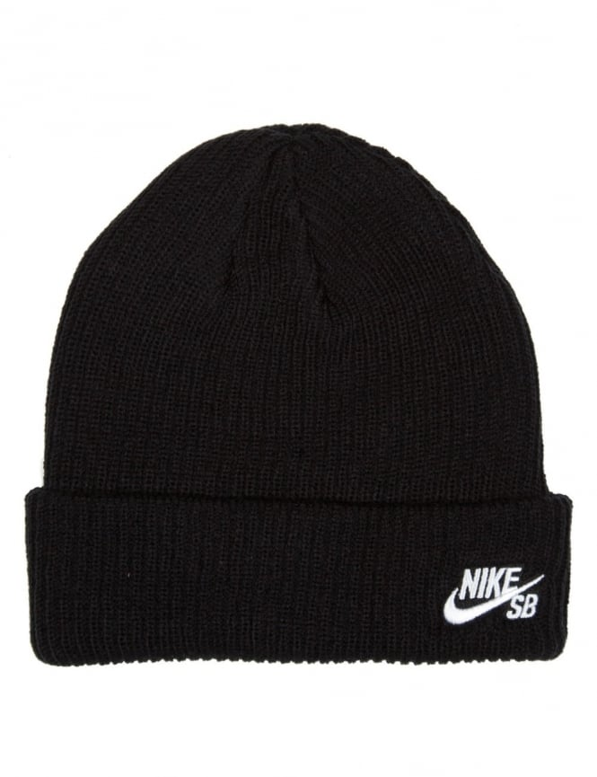 Nike SB Fisherman Beanie Hat - Black