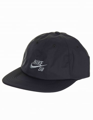 H86 Adjustable Cap - Black/Black/Cool Grey