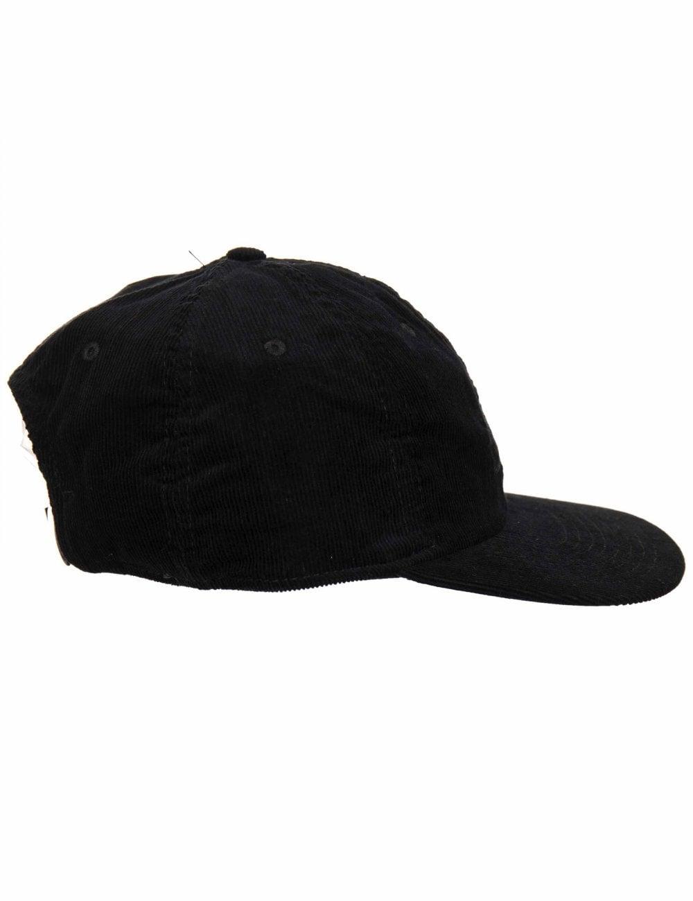 1a176d12246e1 Nike SB Heritage 86 Flatbill Cord Cap - Black Black - Hat Shop from ...