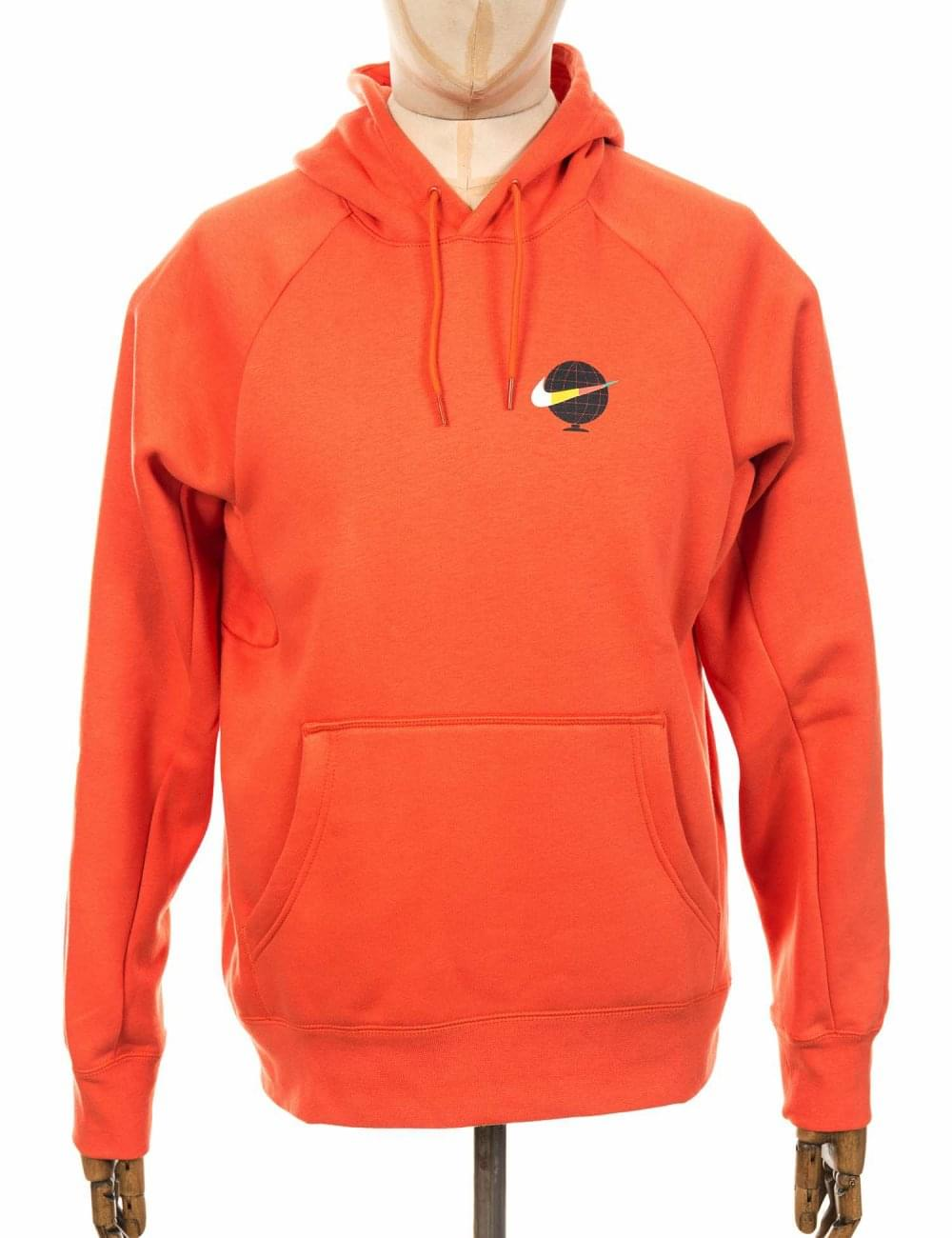 8a79ba12 Nike SB Icon GFX Hooded Sweatshirt - Vintage Coral - Clothing from ...