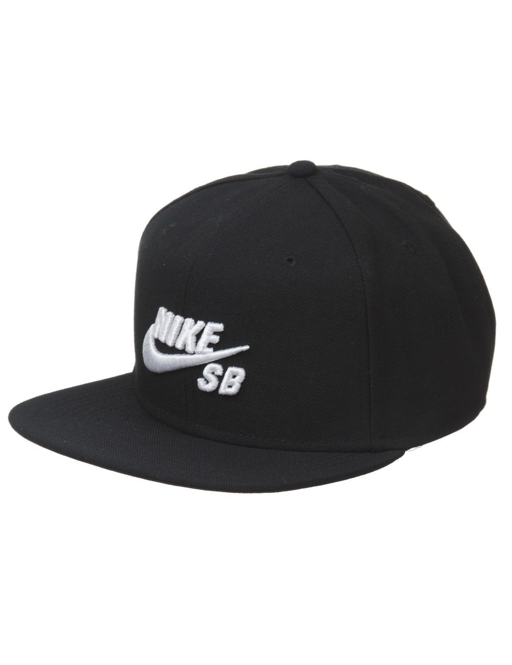 high fashion super specials super quality Icon Logo Pro Snapback Hat - Black