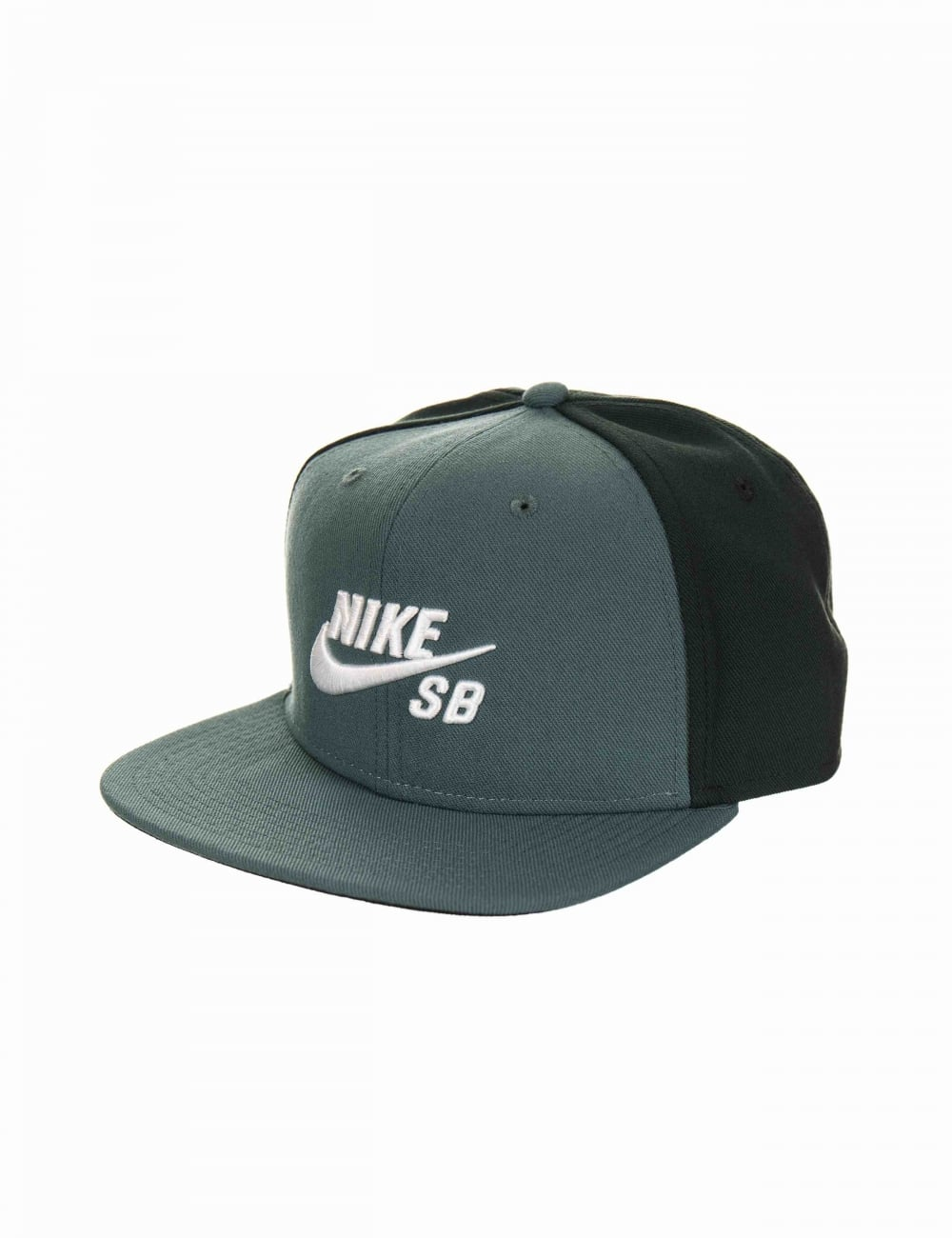Nike SB Icon Logo Pro Snapback Hat - Hasta Seaweed - Hat Shop from ... 37fb5bb537b