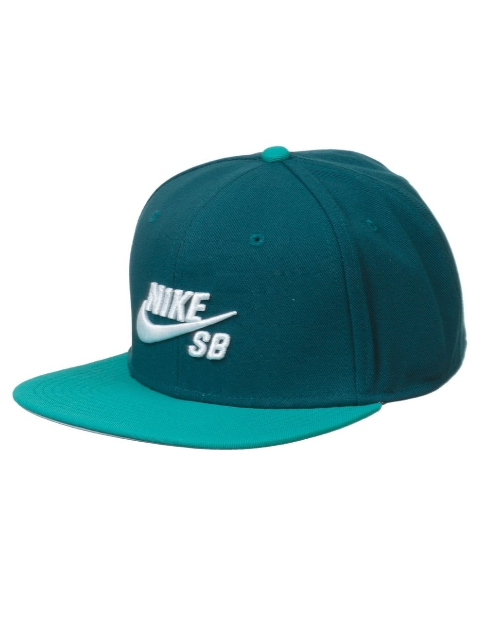 Nike SB Icon Logo Pro Snapback Hat - Midnight Turquoise Teal ... a17be21721a