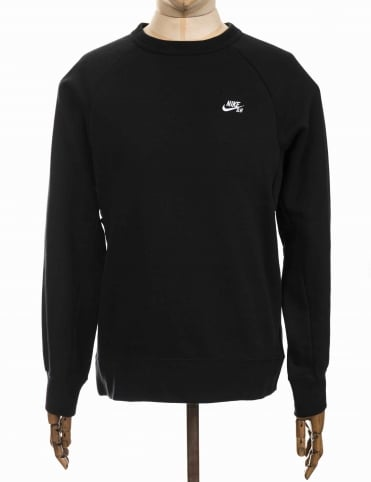 Icon Logo Sweatshirt - Black/White