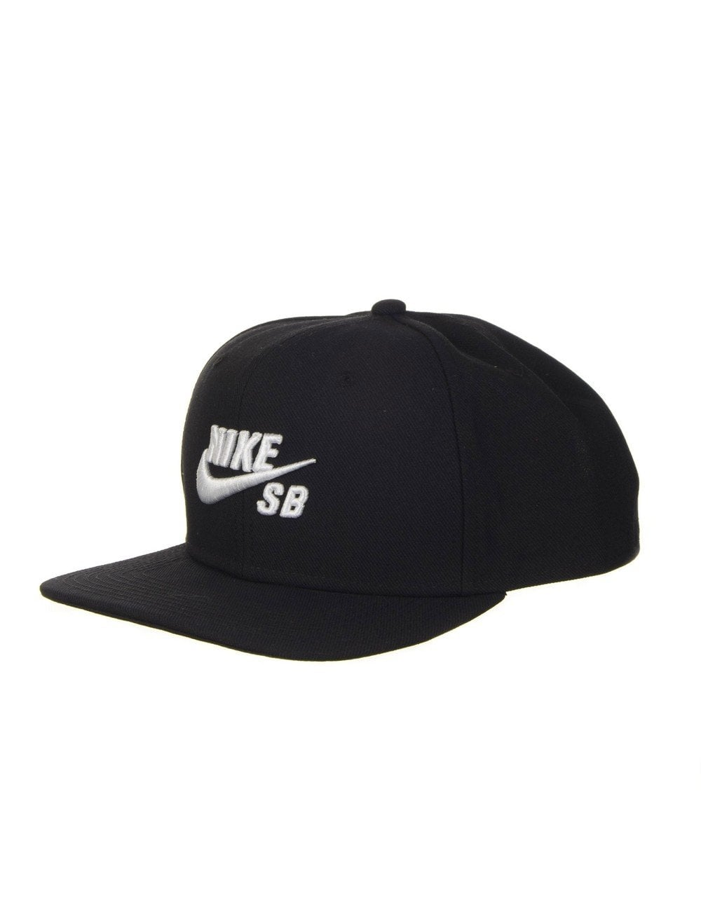 29164eaefc5 Nike SB Icon Pro Snapback Hat - Black White - Accessories from Fat ...