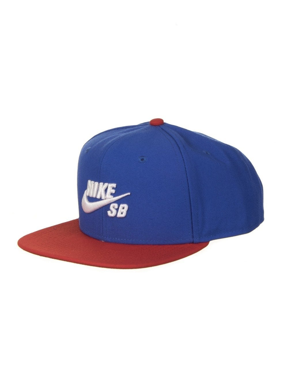 cb9ef227 Nike SB Icon Pro Snapback Hat - Game Royal/White - Accessories from ...