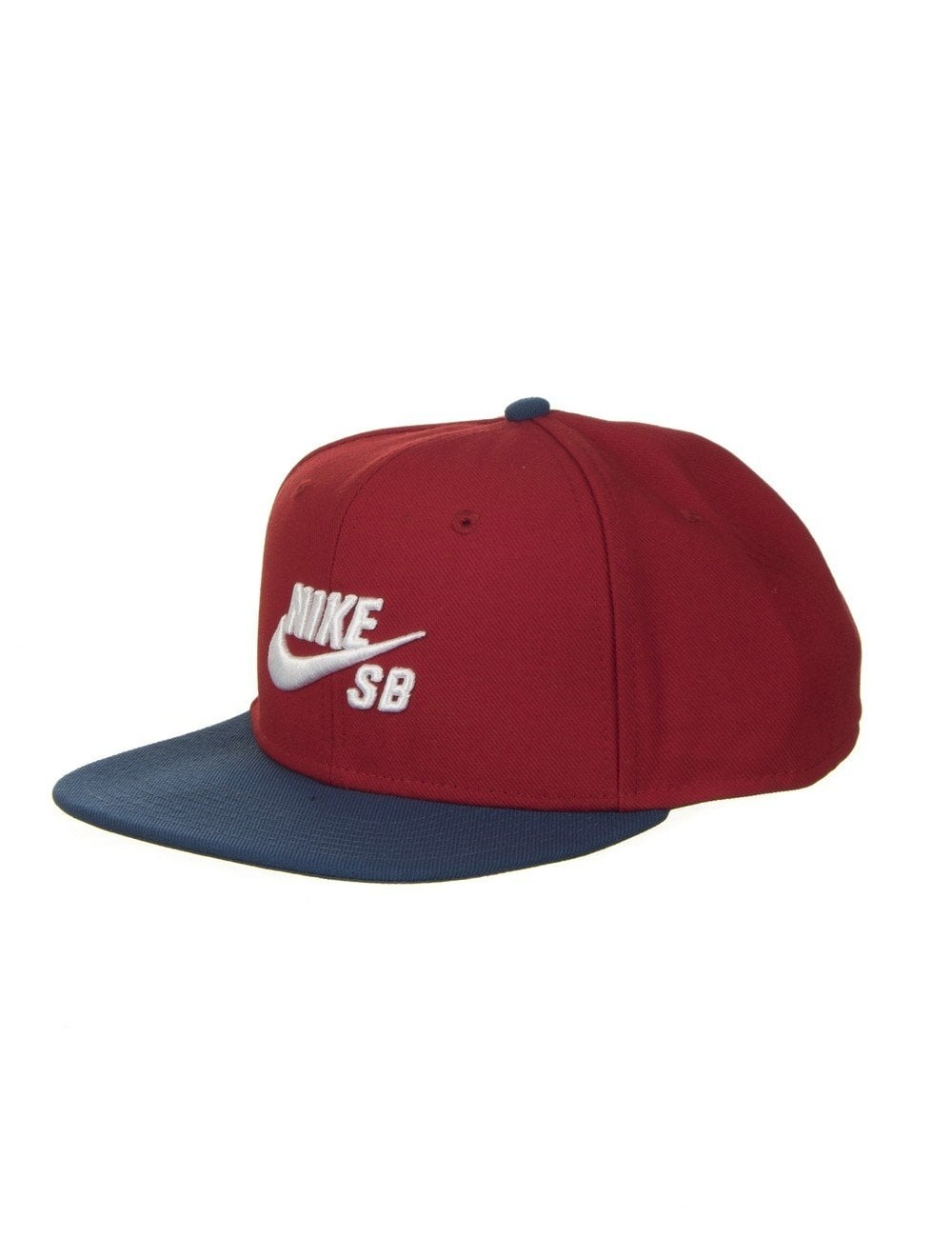 Nike SB Icon Pro Snapback Hat - Gym Red White - Accessories from Fat ... 46af2d6cb95