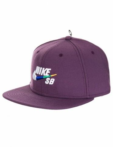 5d8ae911 Nike SB Icon Pro Snapback Hat - Pro Purple
