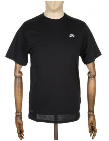Nike SB Knit Overlay T-shirt - Black