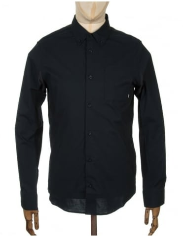 Nike SB L/S Holgate Woven Shirt - Black