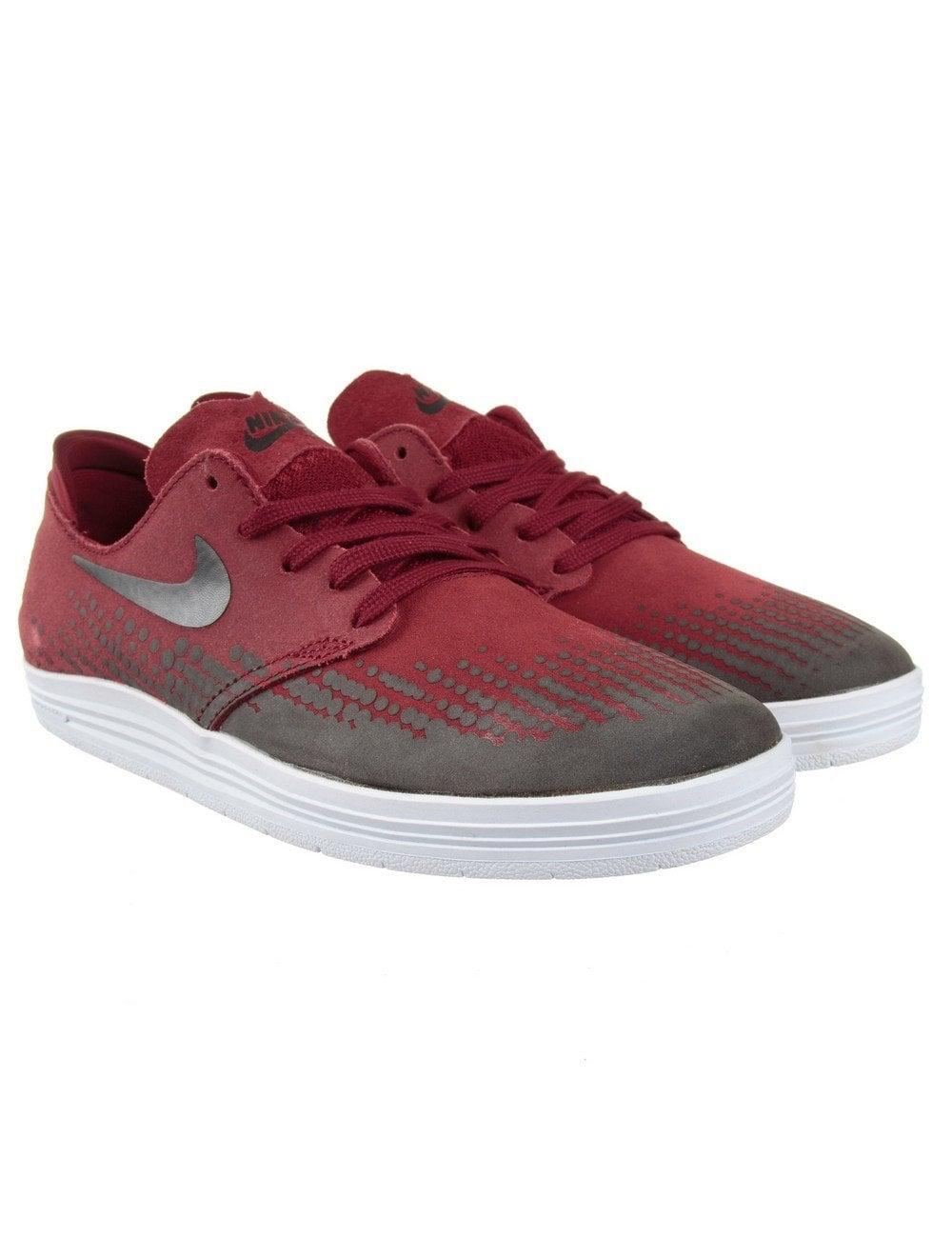 pick up 0decc 414f8 Nike SB Lunar One Shot Shoes - Team Red