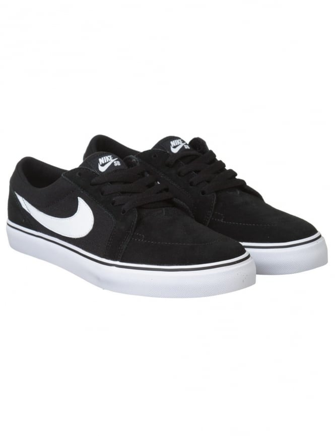 Nike SB Satire II Shoes - Black/White