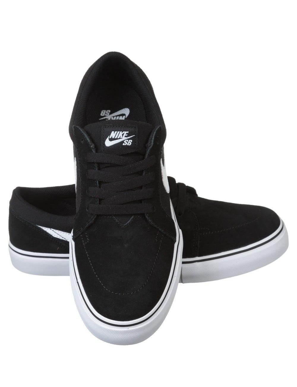 Nike Sb Satire Ii Shoes Black White Footwear From Fat Buddha