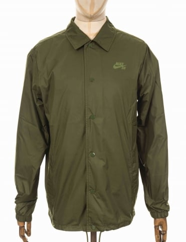 Shield Coach Jacket - Legion Green