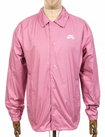 Shield Coach Jacket - Pink