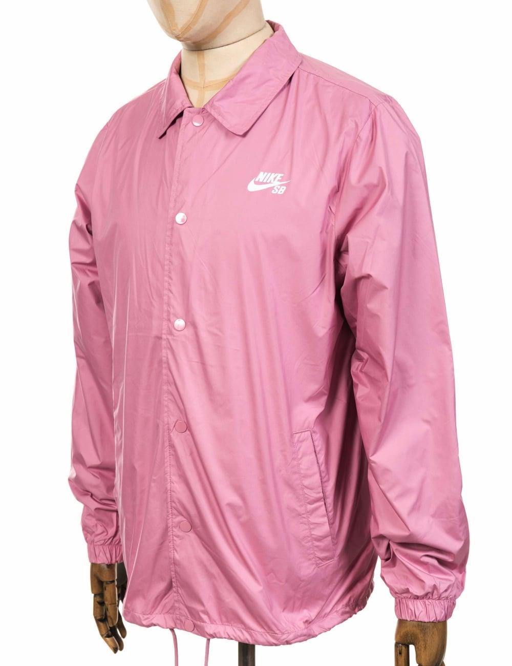 37a4357a7781dd Nike SB Shield Coach Jacket - Pink - Clothing from Fat Buddha Store UK