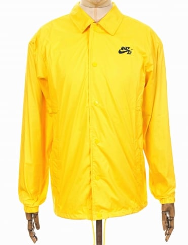 Nike SB Shield Coach Jacket - Tour Yellow
