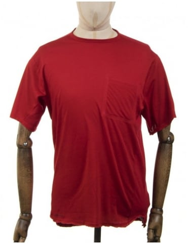 Nike SB Skyline DFC Pocket T-shirt - Gym Red