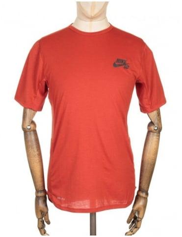 Nike SB Skyline Dri-Fit T-shirt - Cinnabar