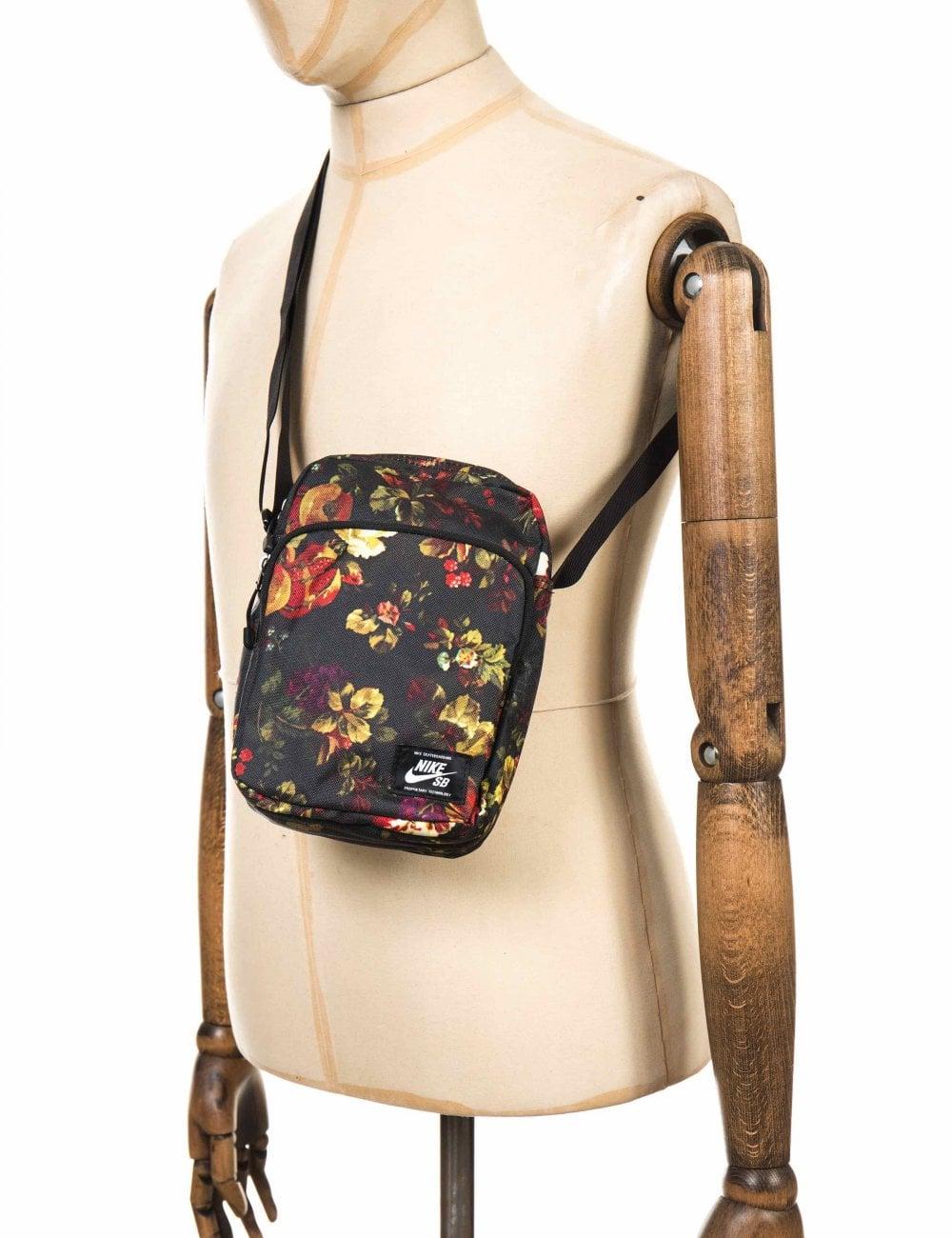 4014933df10a Nike SB Small Item Bag - Black AOP - Accessories from Fat Buddha ...
