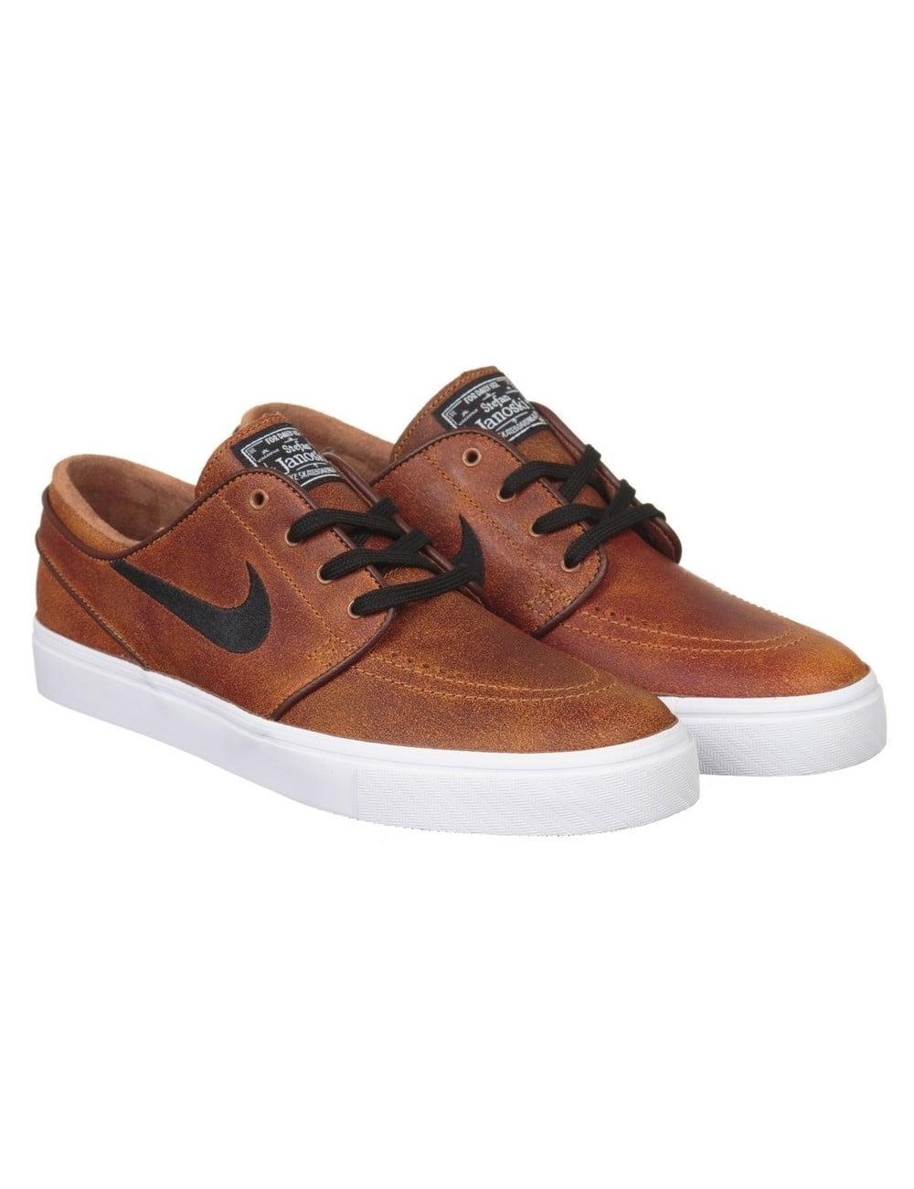 bec8a44fec3 Nike SB Stefan Janoski Elite Shoes - Ale Brown Black - Footwear from ...
