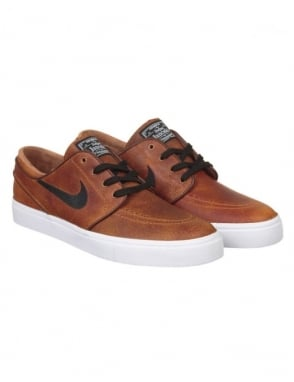 Nike SB Stefan Janoski Elite Shoes - Ale Brown/Black