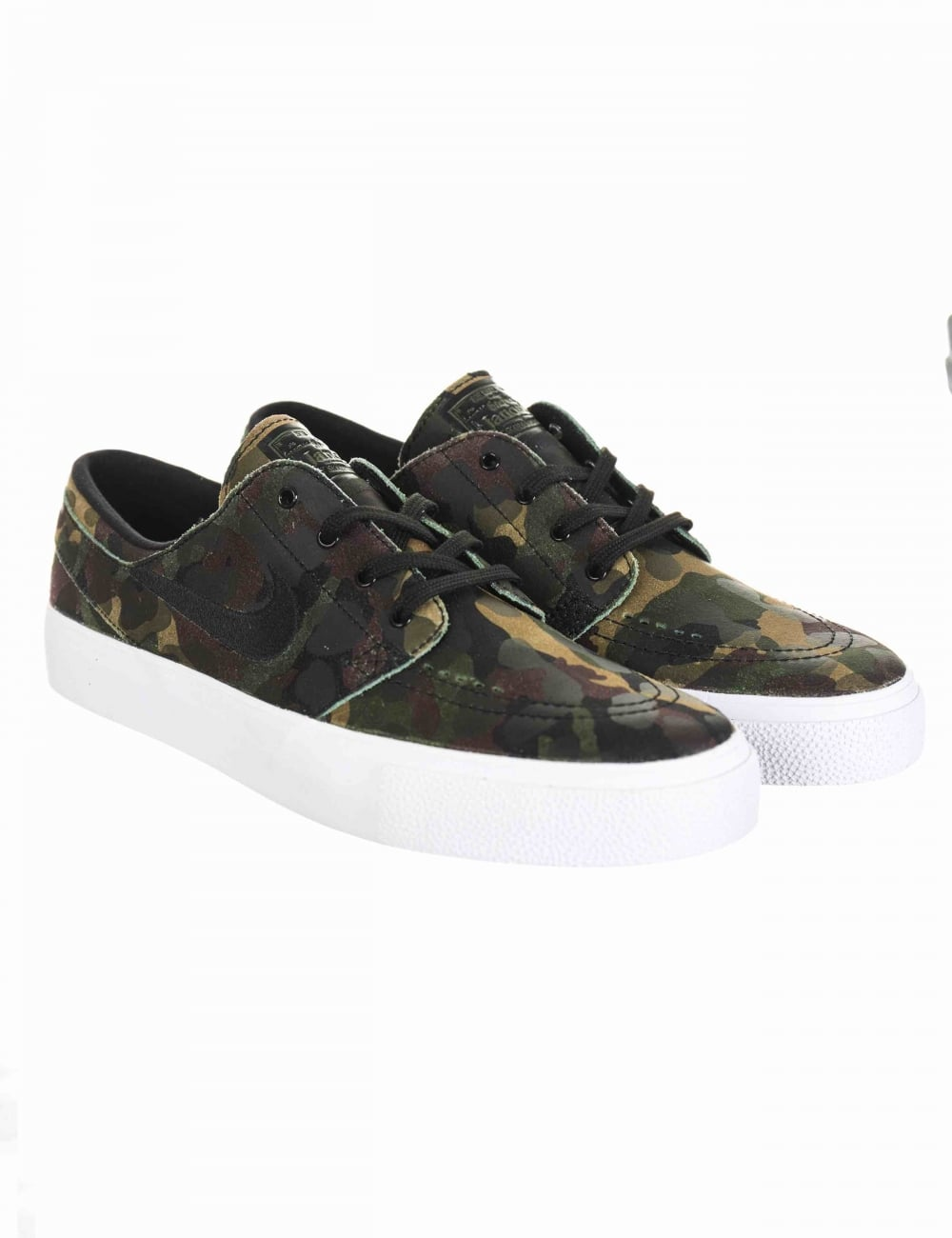 80284f9f0d21 Nike SB Stefan Janoski HT Shoes - White Black (Camo Pack) - Footwear ...