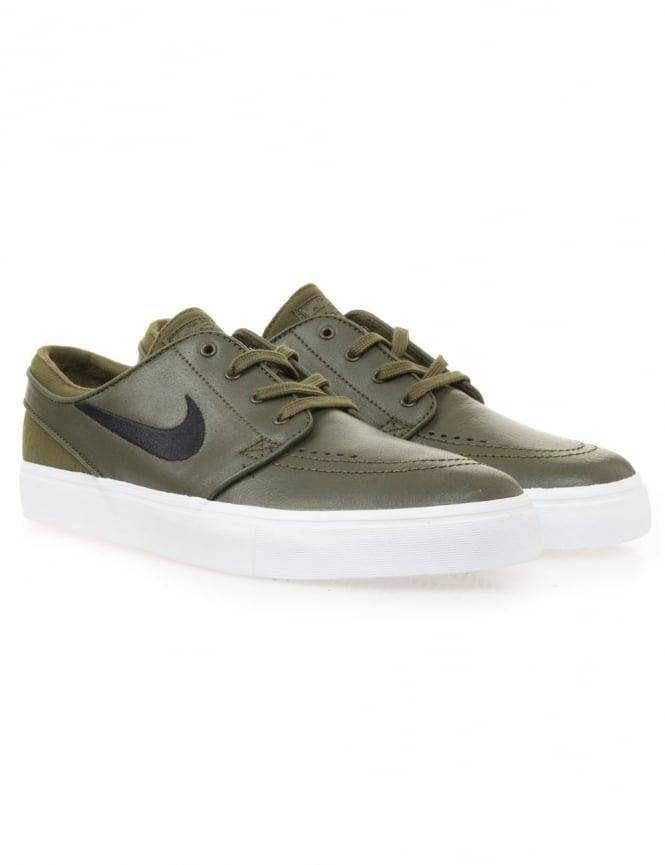 sports shoes 99adf 26239 nike sb stefan janoski legion green black uk
