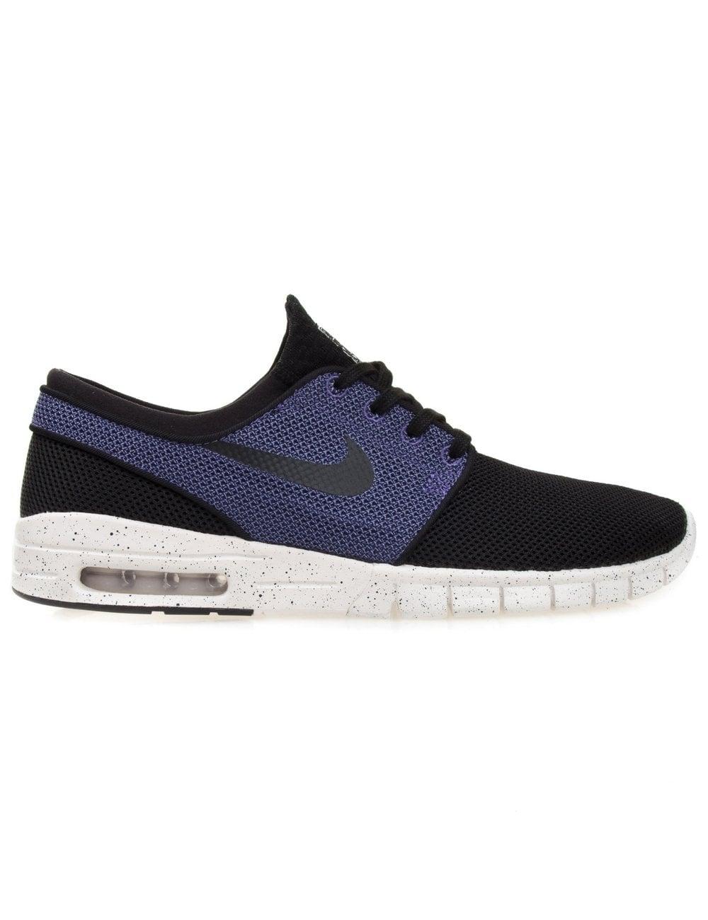 Nike SB Stefan Janoski Max - Black Violet - Footwear from Fat Buddha ... 036fc3b84945a