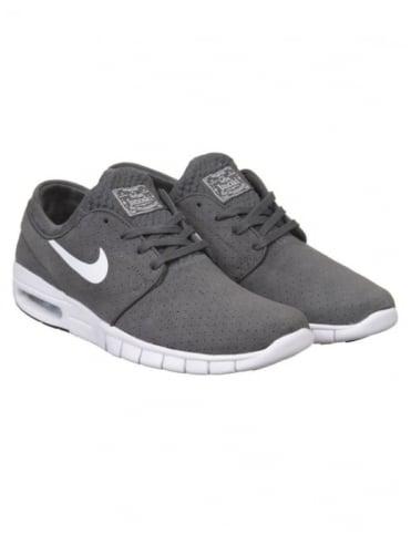 Nike SB Stefan Janoski Max L Shoe - Dark Grey/White