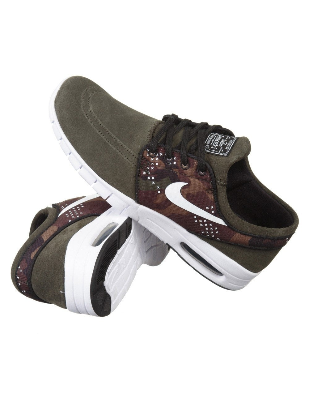 Nike SB Stefan Janoski Max L Shoe - Sequoia White - Footwear from ... 128ee2559