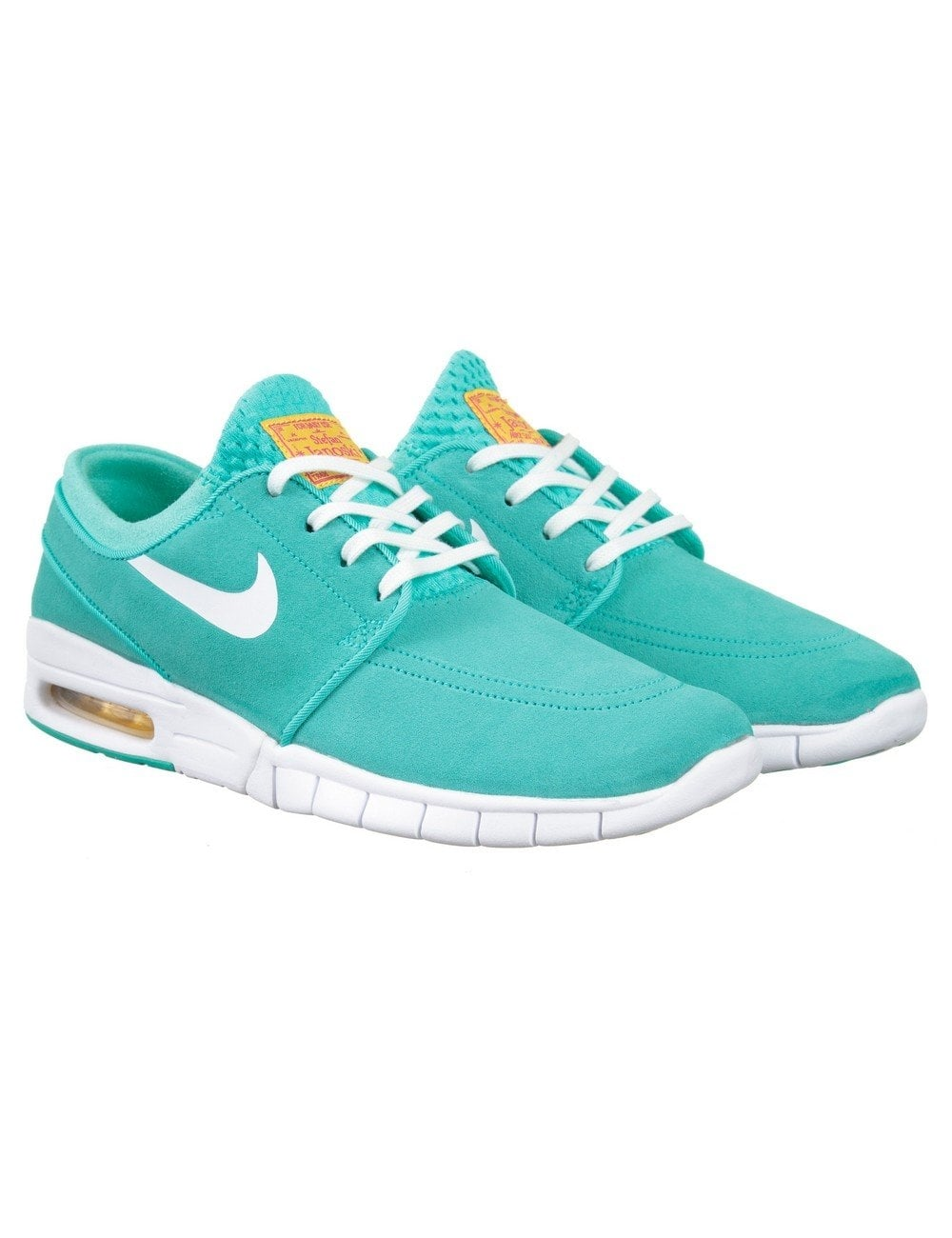 ed95f5cfc2 Nike SB Stefan Janoski Max L Shoes - Hyper Jade/White - Footwear ...