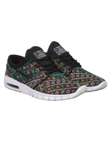 Nike SB Stefan Janoski Max PRM Shoes - Black (Car Seat Pack)
