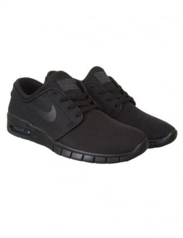Nike SB Stefan Janoski Max Shoes - Black/Black